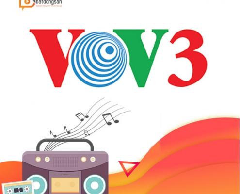 quảng cáo bất động sản trên VOV3