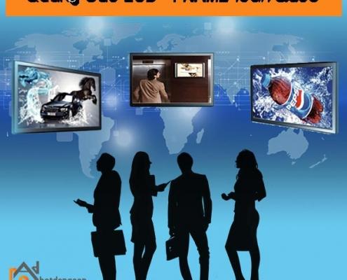 bảng giá quảng cáo bất động sản trên LCD, Frame
